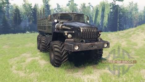 Ural 4320-41 v6.0 for Spin Tires