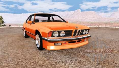 BMW M635 CSi (E24) v2.0 for BeamNG Drive