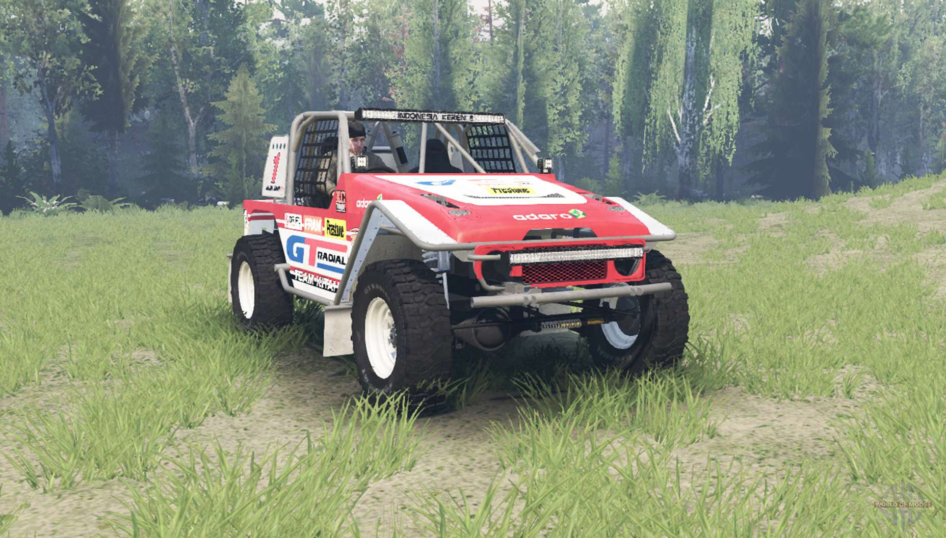 Toyota Land Cruiser Fj40 Serigala Militia For Spin Tires