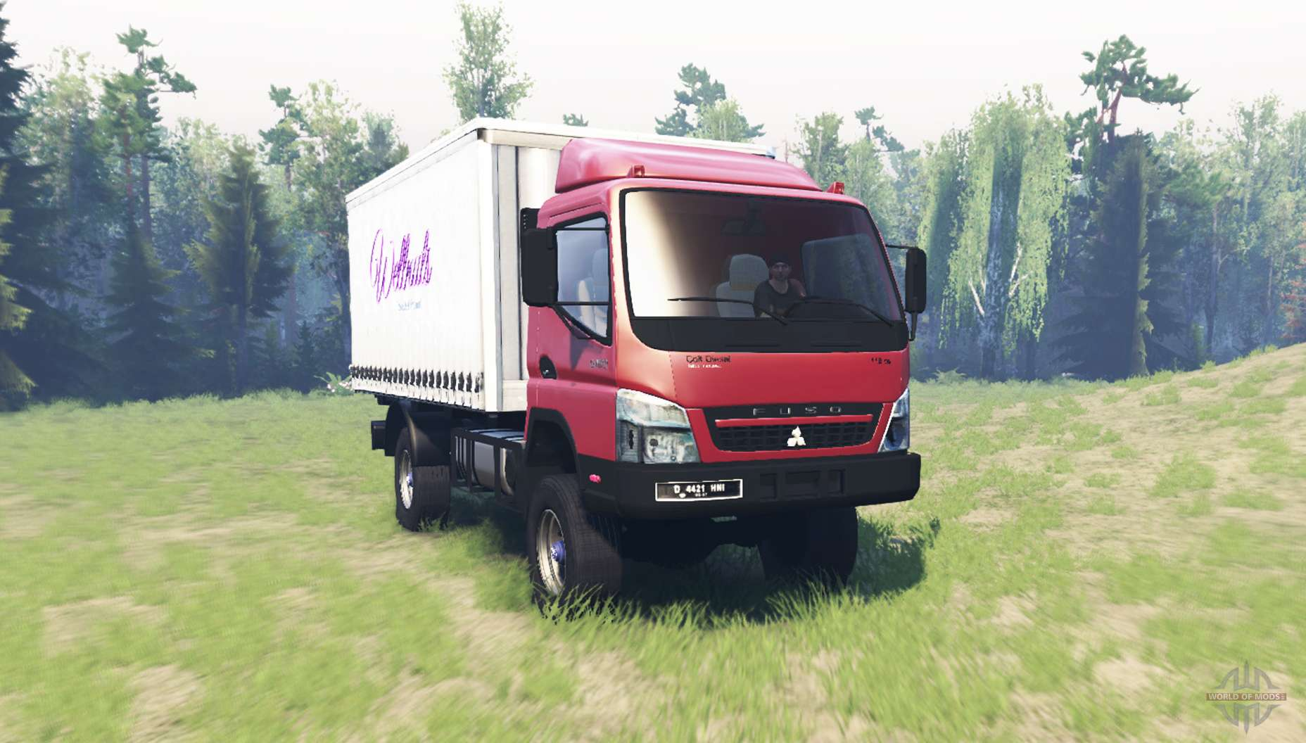 Mitsubishi Fuso Canter (FE7) v1 1 for Spin Tires