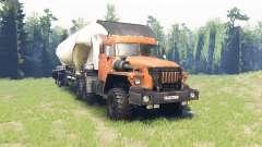 Ural 44202 for Spin Tires
