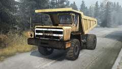 BelAZ 540 v1.1 for Spin Tires