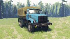 ZIL Э133ВЯТ experienced for Spin Tires