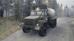 KrAZ 260 v1.1 for Spin Tires