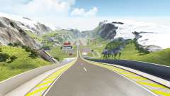 Jump arena for BeamNG Drive