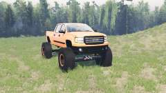 GMC Sierra (GMT900) BigFoot for Spin Tires