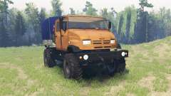 ZIL 43274 for Spin Tires