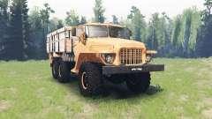 Ural 375 Forest tramp v1.1 for Spin Tires
