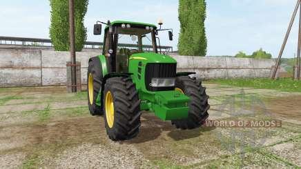 John Deere 7530 Premium v3.0 for Farming Simulator 2017