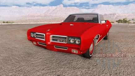 Pontiac GTO 1969 for BeamNG Drive