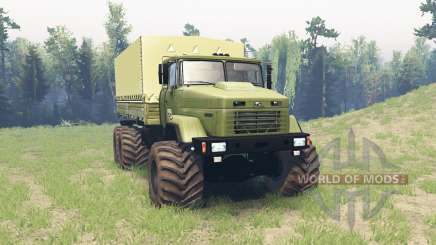 KrAZ 6322 v3.1 for Spin Tires