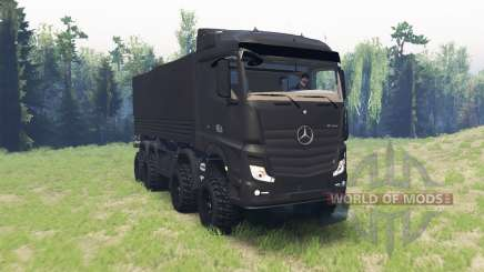 Mercedes-Benz Actros (MP4) chassis for Spin Tires