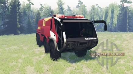 Rosenbauer Panther 8x8 CA7 v0.9 for Spin Tires