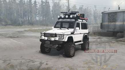 Mercedes-Benz G 500 SWB (W463) for MudRunner