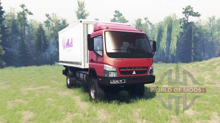 Mitsubishi Fuso Canter (FE7) v1.1 for Spin Tires