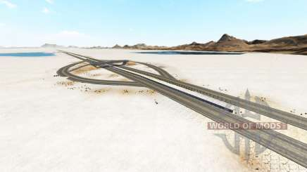 Bonneville Salt Flats v1.2 for BeamNG Drive