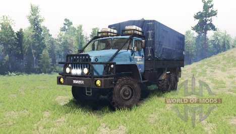 Ural 4320 v2.0 for Spin Tires