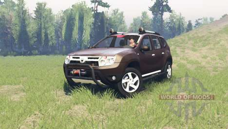 Dacia Duster for Spin Tires
