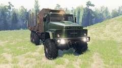 KrAZ 260 for Spin Tires