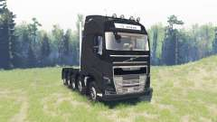 Volvo FH16 10x10 for Spin Tires