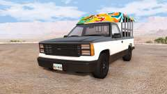 Gavril D-Series thai minibus v1.2 for BeamNG Drive