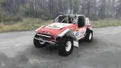 Toyota Land Cruiser FJ40 Serigala Militia v1.01 for MudRunner