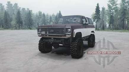 Chevrolet K5 Blazer for MudRunner