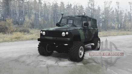 UAZ 3172 scout for MudRunner