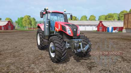 New Holland T8.435 red power for Farming Simulator 2015