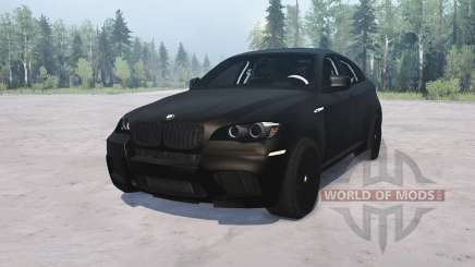 BMW X6 M for MudRunner
