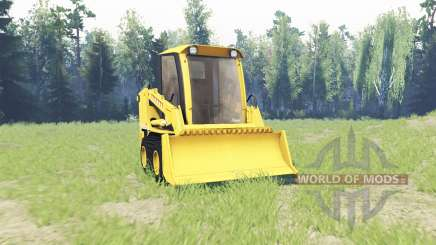 Mini loader for Spin Tires