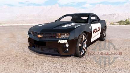 Chevrolet Camaro ZL1 Police for BeamNG Drive