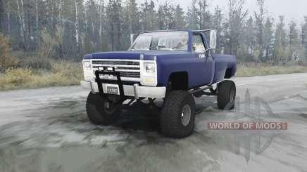 Chevrolet K20 for MudRunner