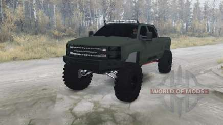 Chevrolet Silverado 3500 HD Crew Cab for MudRunner