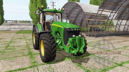 John Deere 8120 v4.0 for Farming Simulator 2017