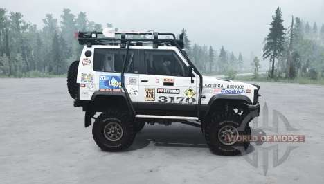 The UAZ 3170 Terra for Spintires MudRunner