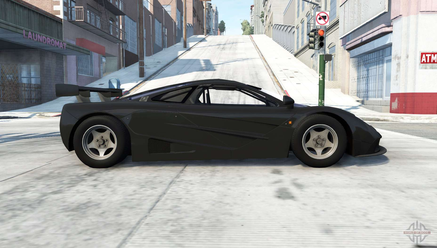 McLaren F1 GTR For BeamNG Drive