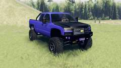 Chevrolet Silverado Extended Cab 2006 v2.2 for Spin Tires