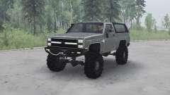Chevrolet K5 Blazer 1982 v1.1 for MudRunner