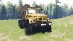 ZIL 131 8x8 v3.1 for Spin Tires