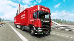 Painted truck traffic pack v2.9 for Euro Truck Simulator 2