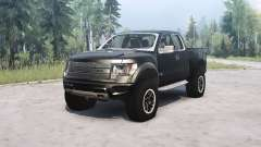 Ford F-150 SVT Raptor SuperCab for MudRunner