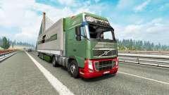 Painted truck traffic pack v3.2 for Euro Truck Simulator 2