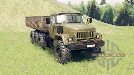 ZIL 131 8x8 for Spin Tires