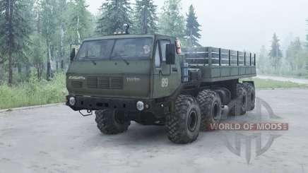 KrAZ 7Э6316 Siberia for MudRunner