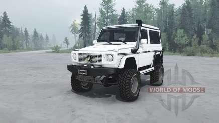 Mercedes-Benz G 500 SWB (W463) v1.1 for MudRunner