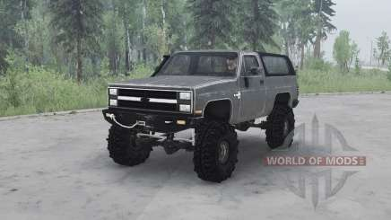 Chevrolet K5 Blazer 1982 v1.1 for MudRunner