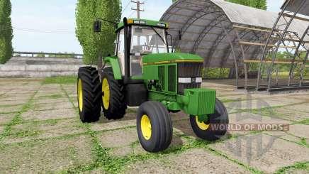 John Deere 7800 american v1.1 for Farming Simulator 2017