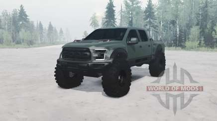 Ford F-150 Raptor SuperCrew 2016 for MudRunner