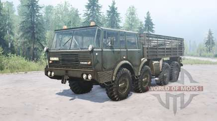 Tatra T813 for MudRunner